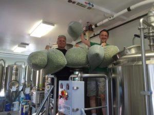 FSB LMF fresh hop brew