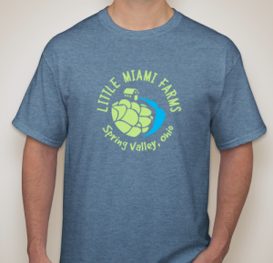 Indigo Blue Tshirt - Little Miami Farms