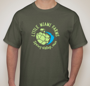 Army Green Tshirt - Little Miami Farms